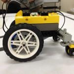 上星期和上上星期的实验是LEGO机器人